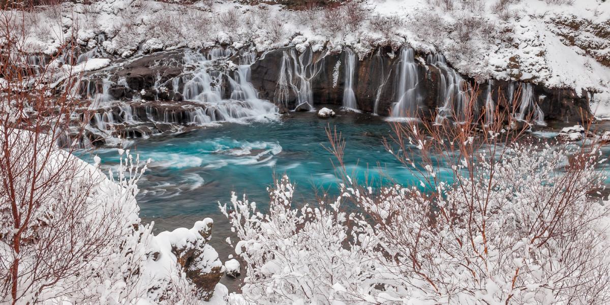 Cascata Raunafossar - Islanda